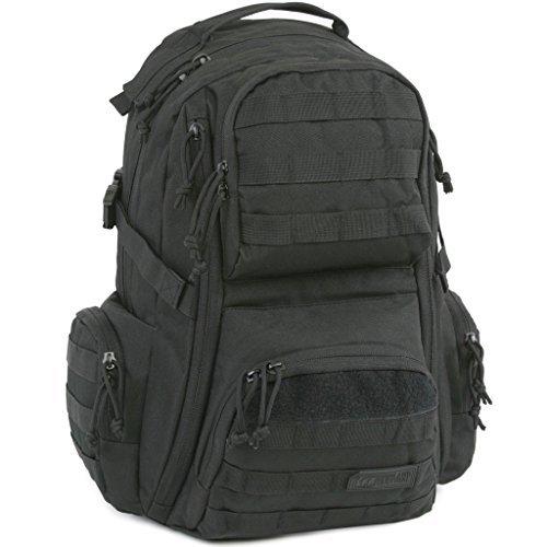 Highland Tactical Crusher Backpack (HLBP1) (Black) [並行輸入品]   B075Q962CQ