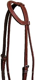product image for MacPherson Leather Oiled Harness Slide Ear Headstall