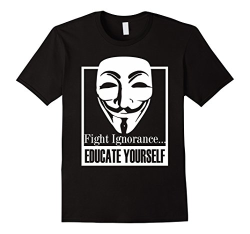 Mens We Are Anonymous Shirt Gifts Hacker Coding Shirt Programmer 2XL Black