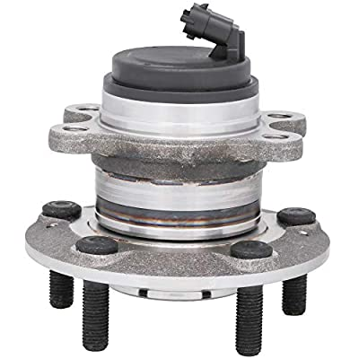 [1-Pack] 513343 - FRONT Wheel Hub Bearing Assembly for 2010-2016 Hyundai Genesis Coupe [Cross Reference: SKF BR930846, Timken HA590592]: Automotive