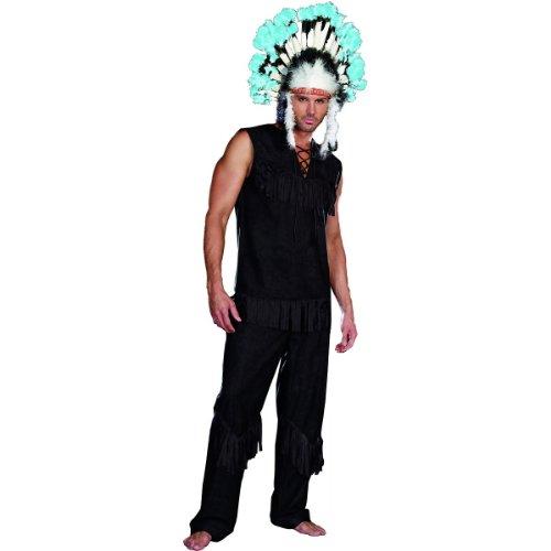 Dreamgirl Men's Chief Wansum Tail Costume, Black, Xx-Large