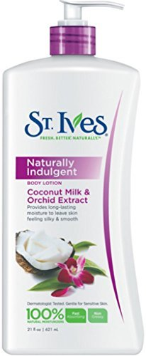 Orchid Extract (St. Ives Naturally Indulgent Body Lotion Coconut Milk & Orchid Extract 21 oz (Pack of 5))