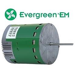 Electric Motor, ECM, Open Air-Over, 3/4 ...