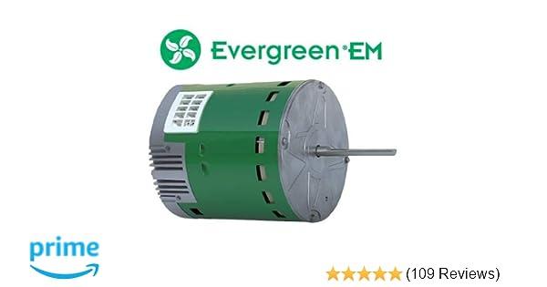 ge • genteq evergreen 1/2 hp 230 volt replacement x-13 furnace blower motor:  amazon com: industrial & scientific