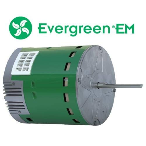 GE • Genteq Evergreen 1/3 HP 230 Volt Replacement X-13 Furnace Blower Motor (Variable Speed Furnace 3 Ton)