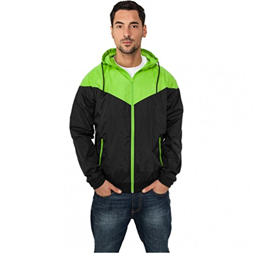 "Urban : ""Arrow Windrunner"" taille: M, couleurs: black-limegreen …TB148"