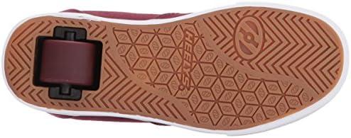 Heelys Launch Burgundy/Gold Ankle-High