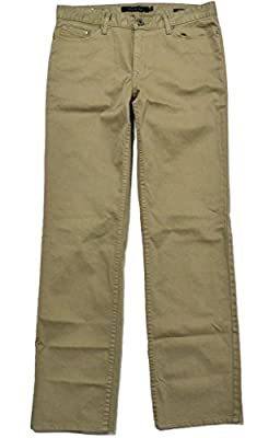 Calvin Klein Men's Straight Fit Sateen 5 Pocket Pant