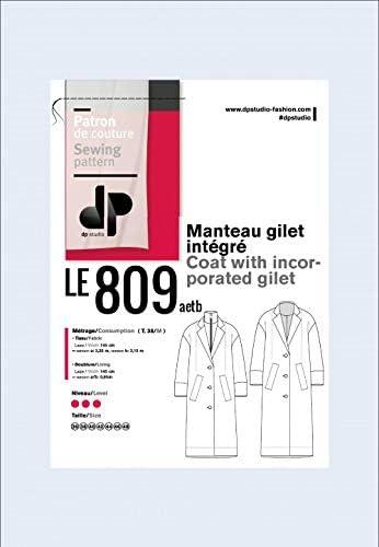 dp studio Le 809 Manteau Gilet INT/ÉGR/É
