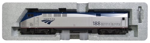 Kato USA Model Train Products #188 GE P42 Genesis Locomotive Amtrak Phase VB Train Car