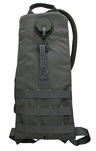 The Specialty Group US Military Molle 100 oz 3 Liter Hydration Water Carrier Backpack with Bladder (Foliage Green) ()