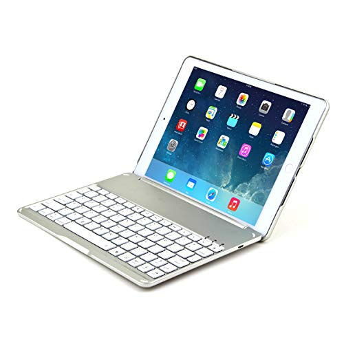 AICEDA 2018 iPad Case, Thin Slim Boys Full Lens Protection Back Shell Soft Case Back Cover Compatible 2018 iPad - Silver