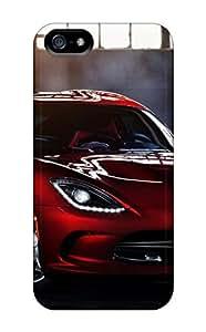 High Grade MichelleNCrawford Flexible Tpu Case For Iphone 5/5s - Dodge Viper Srt 2013 by icecream design