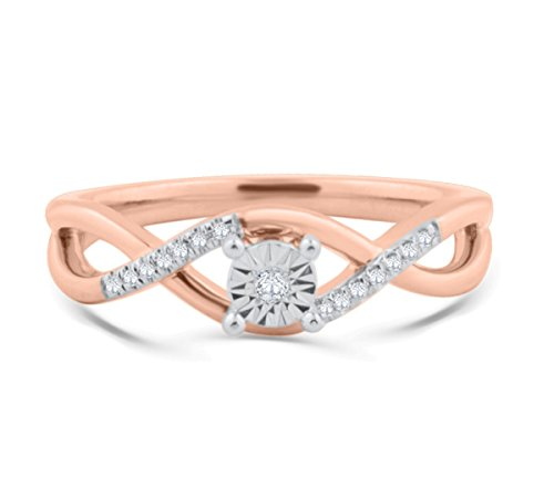 Rose Gold Collection Diamond Wedding Rings Store