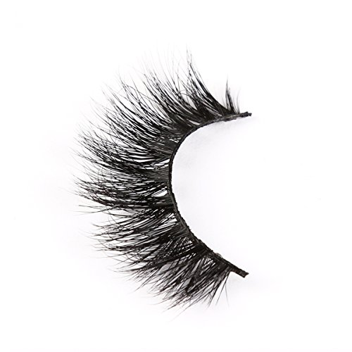 [LANKIZ 3d Mink Eyelashes,Long Thick Natural Mink Strips Lashes,with Extremely Soft Cotton Band] (Chinese Vampire Costume)