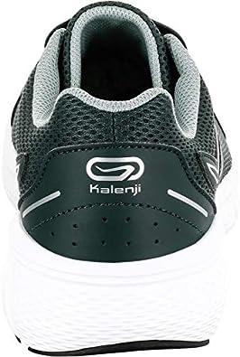 Kalenji - Zapatillas de Running de Caucho para Hombre, Color Verde, Talla 46 EU: Amazon.es: Zapatos y complementos