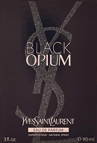 YVES SAINT LAURENT BLACK OPIUM - Agua de perfume vaporizador para mujer, 90 ml: Amazon.es