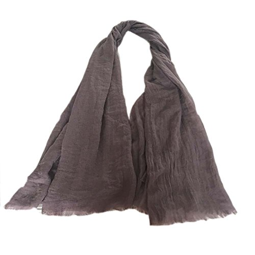 S&S Fashion Women's Cotton Linen Soft Long Shawl Wrap Stole Scarf 20