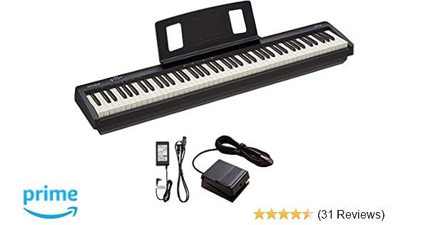 Roland 88-Key Entry-Level Digital Piano, Black (FP-10-BK)