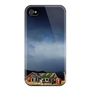 Awesome Abandoned House Under Rainbow Flip Cases With Fashion Design For Iphone 6plus