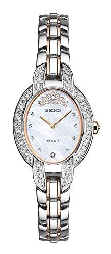 アメリカで人気の女性用セイコー seiko tressia misty copeland women's quartz solar watch sup327