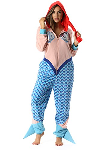 Just Love 6353-M Adult Onesie Womens Pajamas