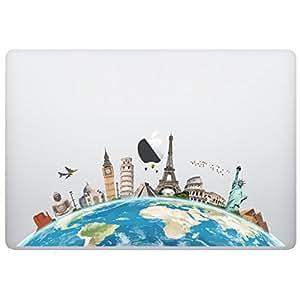 Amazon laptop macbook sticker decal world map skins laptop macbook sticker decal world map skins stickers gumiabroncs Choice Image