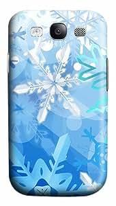 Blue Ice Custom Polycarbonate Plastics Case for Samsung Galaxy S3 / S III/ I9300