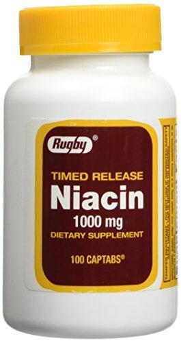 Niacin Time Release 1000mg 100ct. (Release Niacin Time Timed)