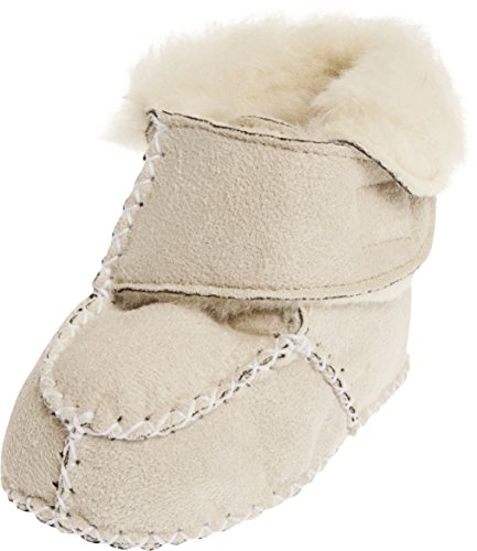 Playshoes Babyschuhe In Lammfell-optik - Zapatillas de casa Bebé-Niños Beige - Beige (Natur 2)
