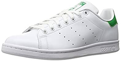 Adidas Men's Originals Stan Smith Sneaker, White/White/Fairway, 4.5 M US