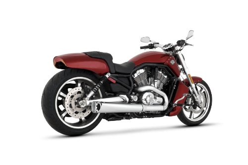 Vance and Hines Competition Series Chrome Slip-On Exhaust for Harley (Competition Series Exhaust)