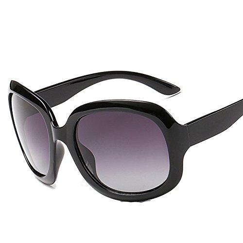 XFIERY SG800023C1 New Style Resin Polarized Lens Retro Plastic & Metal Frames Sunglasses (Sonnenbrille John Lennon)