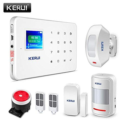 Wireless Home GSM Security Alarm System App Control & Motion Detector (DIY KIT 4)