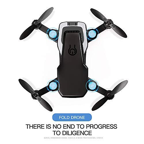 Mini Drone con altitud Seguro, Helicópter de Altitude Hold RC, Drones HD WiFi FPV Quadcopter Dron RC Helicóptero VS Z1, JDRC JD-16, HDRC D2, SM M1, Regalo Exquisito de Navidad de los niños