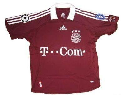 Adidas FC Bayern Múnich Camiseta cl 06/07, hombre, 093900, rojo granate