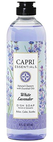 Capri Essentials 832037 16 oz White Lavender Dish Soap