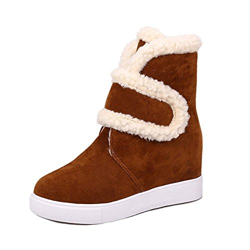 Warm Winter brown Fur de Snow Boots Snow Boots SHANGXIAN Boots Botines Zapatos mujer Boots OZq0Y0