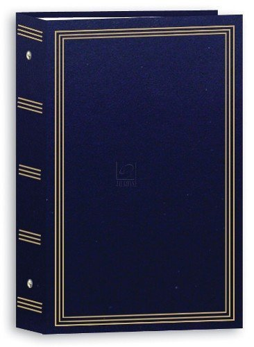 Pioneer 3-Ring Photo Albums 4 x 6 Pocket for 504 Photos (Navy Blue) (2 Pack) by Pioneer Photo Albums (Image #2)
