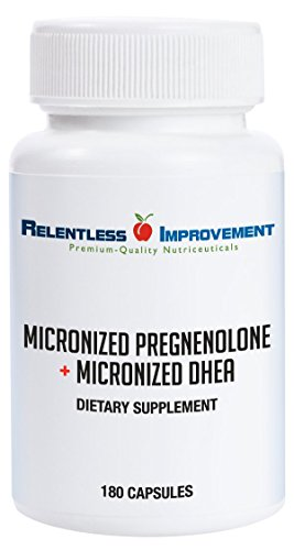 Relentless Improvement Pregnenolone MICRONIZED Capsules product image