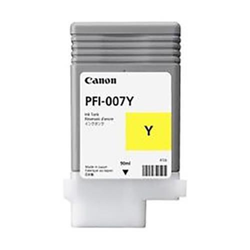 Canon PFI-007Y Yellow Ink Tank (90mL)