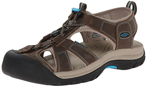 keen-womens-venice-sandaldark-earth-caribbean-sea85-m-us