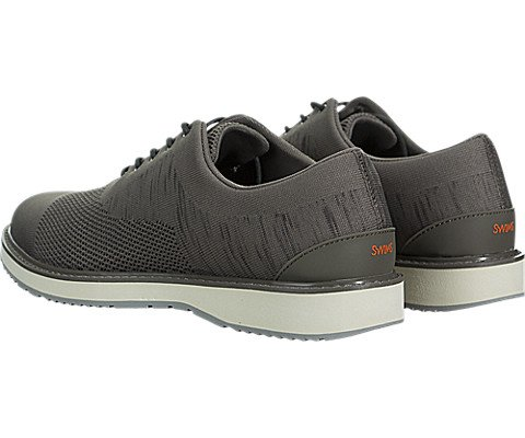 SWIMS Barry Oxford Knit In Khaki Melange/Gray, Size 8 by SWIMS (Image #3)