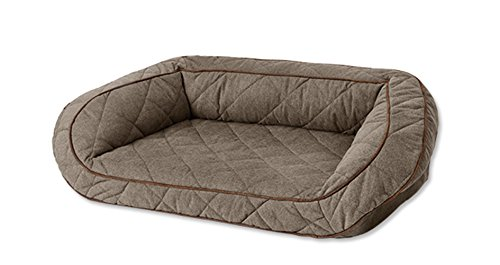 Orvis Airfoam Bolster Dog Bed Cover/Large Dogs 60-90 Lbs, He