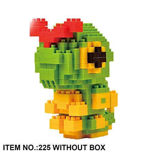 Hanmo Arrival Toys Hobbies Nanoblock Anime Figures Toys 3D Cartoon Model Building Brick Micro Animals Educational Toys for -