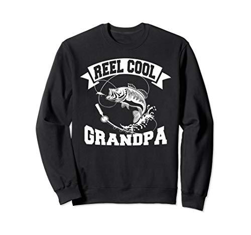 Reel Cool Grandpa Fishing Gift Father's Day Funny Fishing  Sweatshirt