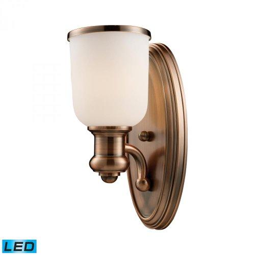 Elk Lighting 66180-1-LED Wall Sconce Antique Copper ()