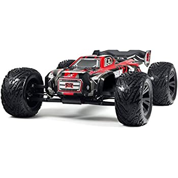 ARRMA 1:8 Scale RTR Remote Radio Control Car: KRATON 6S BLX 4WD Electric RC Speed Monster Truck with 2.4GHz Radio, Servo, ESC, Brushless Motor, and Pinion Gear