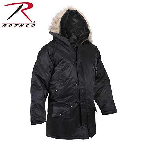 Rothco N-3B Parka, Black, 3X for sale  Delivered anywhere in USA
