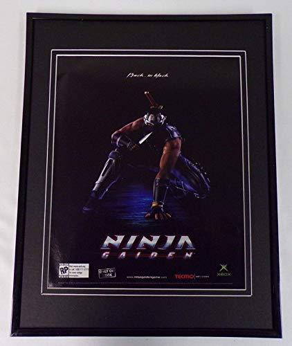 Ninja Gaiden 2003 XBox Tecmo Framed 11x14 ORIGINAL Advertisement